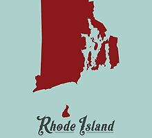 Rhode Island - States of the Union by Michael Bowman