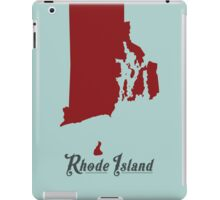 Rhode Island - States of the Union iPad Case/Skin