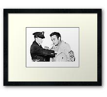 Lenny Bruce Arrest Framed Print