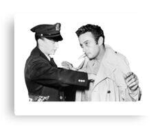 Lenny Bruce Arrest Canvas Print