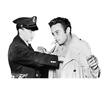 Lenny Bruce Arrest Photographic Print