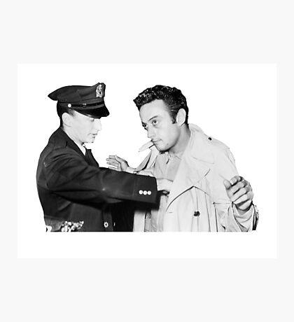 Lenny Bruce Arrest Photographic Print