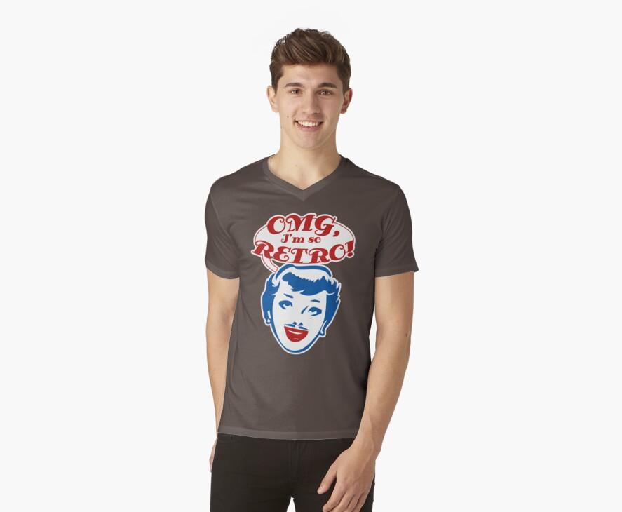 OMG, Retro t-shirt by valizi