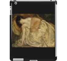 'The Princess and the Frog' by Bluemenschein (Reproduction) iPad Case/Skin
