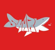 Shark-- One Piece - Long Sleeve