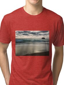 Sorrento back beach Tri-blend T-Shirt