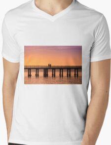 Dromana Pier - couple Mens V-Neck T-Shirt