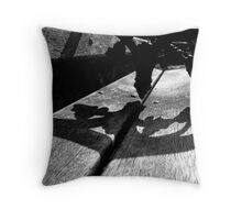Blackrock Bench #1 Throw Pillow