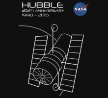 Hubble Telescope 25th Anniversary by Samuel Sheats