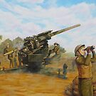 A.W.A.S. Anti-Aircraft Battery Nth Qld 1943 by Cary McAulay
