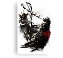 Samurai warriors Canvas Print