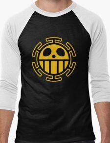 Trafalgar Law Heart Pirates Logo Men's Baseball ¾ T-Shirt
