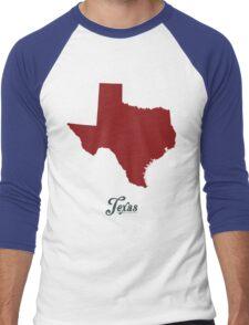 Texas - States of the Union Men's Baseball ¾ T-Shirt