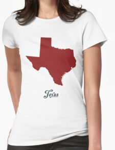 Texas - States of the Union Womens Fitted T-Shirt