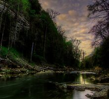 Twilight on the Blackburn Fork by James Hoffman