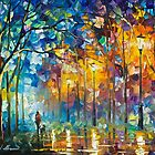 Friends Forever — Buy Now Link - www.etsy.com/listing/230490913 by Leonid  Afremov
