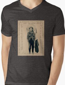 La Sangre Mens V-Neck T-Shirt