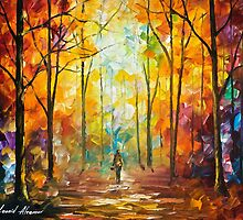 Moment Of Realization — Buy Now Link - www.etsy.com/listing/230501320 by Leonid  Afremov
