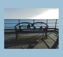 Ornate Bench, Southend Pier T-Shirt