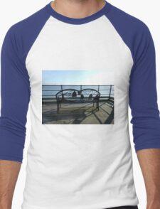 Ornate Bench, Southend Pier Men's Baseball ¾ T-Shirt