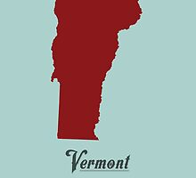 Vermont - States of the Union by Michael Bowman