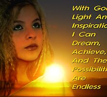 With God's Light and Inspiration by HeavenOnEarth