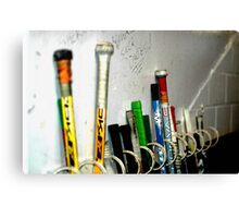 Hockey Sticks Canvas Print