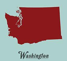 Washington - States of the Union by Michael Bowman