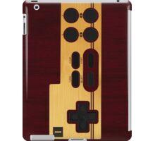 Nes Controller Wood Texture iPad Case/Skin