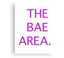 The Bae Area Canvas Print