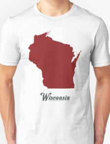 Wisconsin - States of the Union Unisex T-Shirt