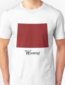 Wyoming - States of the Union Unisex T-Shirt
