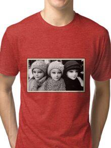 Three Heads Tri-blend T-Shirt