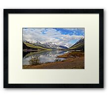 "Under the Canadian Sky ""Reflections and Mirroring"" Framed Print"