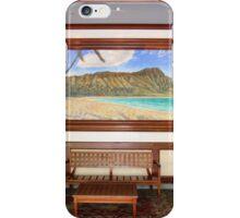 Pre-Civilization Waikiki Beach iPhone Case/Skin