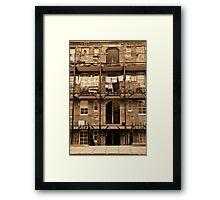DAYS GONE BY V Framed Print