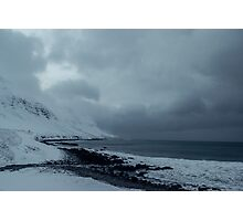 Sugandafjordur, Sudureyri, Westfjords, Iceland Photographic Print