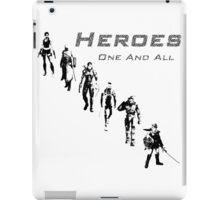 Heroes Square (Dark) iPad Case/Skin