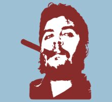 Che Guevara Cigar On Kids Tee
