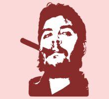 Che Guevara Cigar On Kids Tee