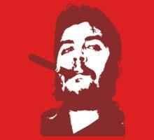 Che Guevara Cigar On One Piece - Long Sleeve