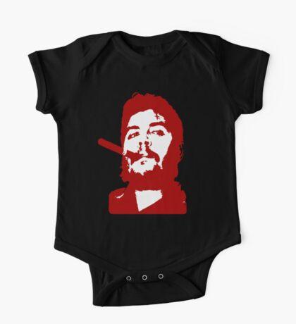 Che Guevara Cigar On One Piece - Short Sleeve