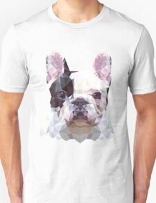 Low Poly French Bulldog T-Shirt