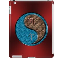 Scorpio & Horse Yang Earth iPad Case/Skin