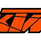 KTM - Orange on Black by frenzix