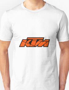 KTM - Orange on Black Unisex T-Shirt
