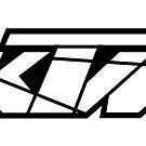 KTM - White on Black by frenzix