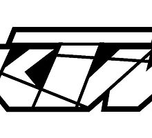 KTM - White on Black by frenzix