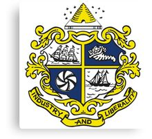 St. Catharines Coat of Arms Canvas Print
