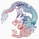 Rainbow Dragon by Zehda